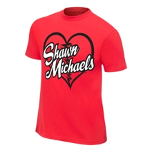 "Shawn Michaels ""Heartbreak Kid"" Legends T-Shirt"