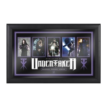 Undertaker Evolution of a Superstar Plaque