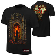 "Undertaker ""Never Summon The Dead"" Youth Authentic T-Shirt"