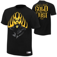 "Goldust ""Ashes To Ashes"" Authentic T-Shirt"