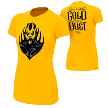 "Goldust ""Ashes To Ashes"" Gold Version Women's Authentic T-Shirt"