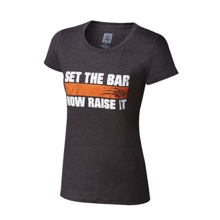 "CENA Training ""Set The Bar"" Women's Crew Neck T-Shirt"