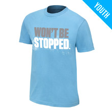 "CENA Training ""Won't Be Stopped"" Youth T-Shirt"