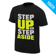"CENA Training ""Step Up or Step Aside"" Youth T-Shirt"