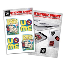 John Cena Vinyl Sticker Sheet