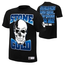 "Stone Cold Steve Austin ""Stomping Mudholes"" Authentic T-Shirt"