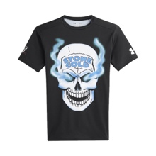 "Austin ""Smoking Skull"" Under Armour Compression T-Shirt"