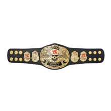 WWE Smoking Skull Championship Mini Replica Title Belt