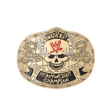 Stone Cold Smoking Skull Championship Belt Buckle