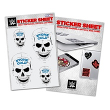 Stone Cold Steve Austin Vinyl Sticker Sheet