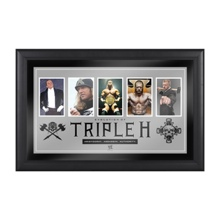 Triple H Evolution of a Superstar Plaque