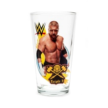 Triple H Toon Tumbler Pint Glass