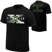 "D-Generation X ""Break It Down"" Retro Authentic T-Shirt"