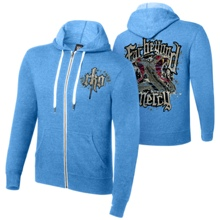 "Randy Orton ""Far Beyond Mercy"" Unisex Lightweight Full-Zip Hoodie Sweatshirt"