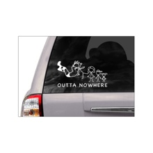 "Randy Orton ""Outta Nowhere"" Car Decal"