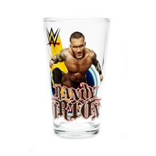 Randy Orton Toon Tumbler Pint Glass
