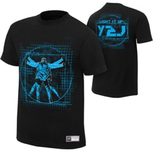 "Chris Jericho ""Light It Up"" Authentic T-Shirt"
