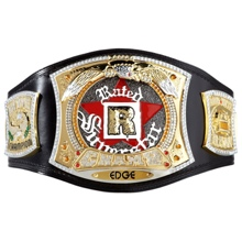 WWE Edge Rated R Championship Spinner Kids Replica Title Belt