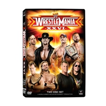 WrestleMania XXVI 2-Disc DVD