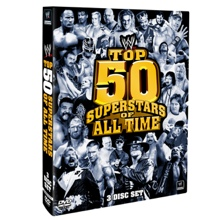 WWE Top 50 Superstars of All Time DVD