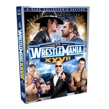 Wrestlemania XXVII 3-Disc Collector's Edition DVD