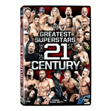 WWE Greatest Superstars of 21st Century DVD