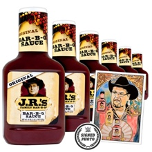 JR's BBQ Sauce Package with free signed Thank You Note