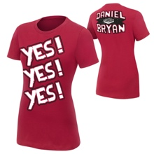 Daniel Bryan YES Women's Authentic T-Shirt