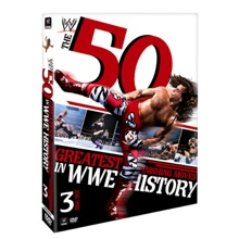 WWE 50 Greatest Finishing Moves DVD
