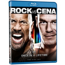 Rock vs. Cena - Once in a Lifetime Blu-ray