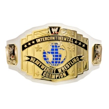 WWE White Intercontinental Championship Commemorative Title Belt
