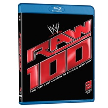 Raw 100 - The Top 100 Moments in Raw History Blu-ray DVD