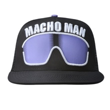"Macho Man"" Randy Savage Purple Sunglasses Hat"