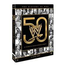The History of WWE: 50 Years of Sports Entertainment DVD