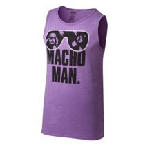 "Macho Man"" Randy Savage Purple Tank Top"