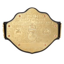 WCW Heavyweight Championship Replica Belt