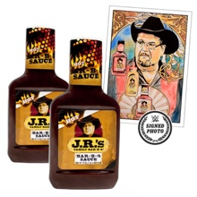 JR's Hot BBQ Sauce Package with free signed Thank You note