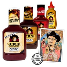 JR's BBQ Ultimate Sauce Package with free signed Thank You note