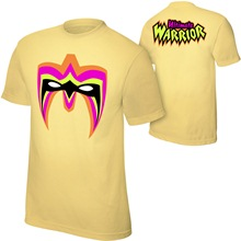 "Ultimate Warrior ""Parts Unknown"" Yellow Youth T-Shirt"