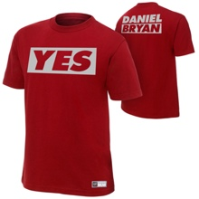 "Daniel Bryan ""Yes"" Authentic T-Shirt"