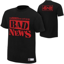 "Bad News Barrett ""Bad News"" Youth Authentic T-Shirt"