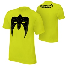 "Ultimate Warrior ""Parts Unknown"" Neon T-Shirt"