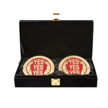 Daniel Bryan WWE World Heavyweight Championship Replica Title Side Plate Box Set