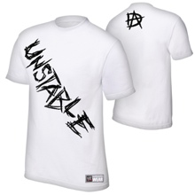 "Dean Ambrose ""Unstable"" Authentic T-Shirt"