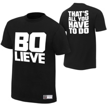 "Bo Dallas ""BO-LIEVE"" Youth Authentic T-Shirt"
