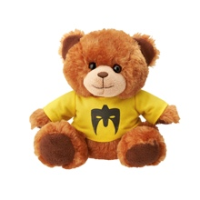 "Ultimate Warrior ""Parts Unknown"" Plush Bear"