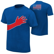 """Jack Swagger """"We The People"""" All-American Authentic T-Shirt"""