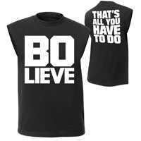 "Bo Dallas ""BO-LIEVE"" Muscle T-Shirt"