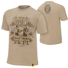 "The VaudeVillains ""Olde Fashion Way"" Authentic T-Shirt"