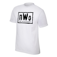 nWo White Youth Authentic T-Shirt